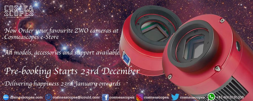 First announcement ZWO