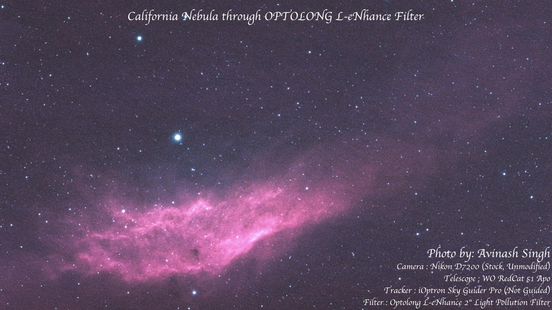 Avinash Singh California Nebula